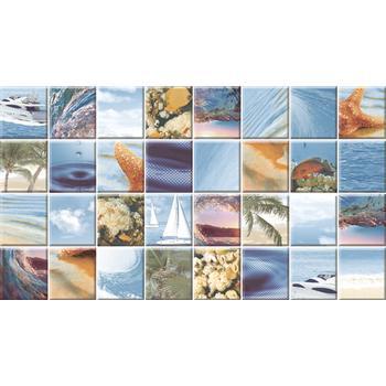 Dec Mozaic Sea Декор КВС16MozaicSea 25х45