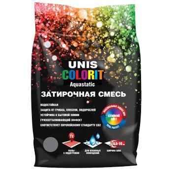 ЮНИС COLORIT затирка серая  (2 кг)