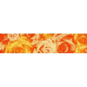 Фьюжн Бордюр оранжевый 1504-0076 9х40