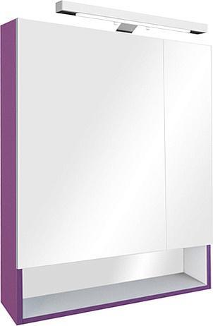 Зеркальный шкаф ROCA The Gap 80 см, цвет фиолетовый, ZRU9302753