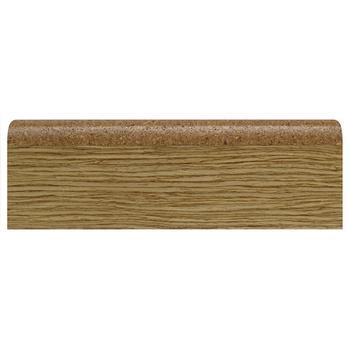 Плинтус эластичный пробковый Art Cork (шпон дерева), 915х60х16 мм, (40 шт/уп), арт. CW 02-03