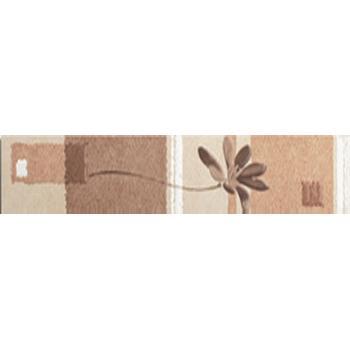Эдем бордюр цветы вертикальный 1504-0078 9х39,8