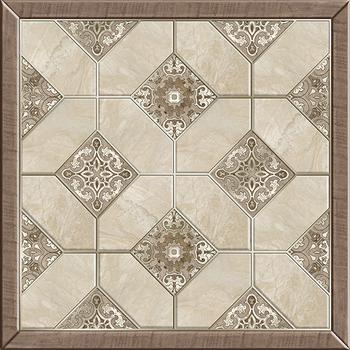 Фиеста Плитка напольная на белом коричневая ПГ3ФС024/ TFU03FST024 41,8х41,8