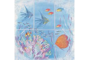 Бриз Панно рыбки (P403AR8) 60х66