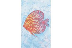 Бриз Декор красная рыба (D403bAR8) 20х33