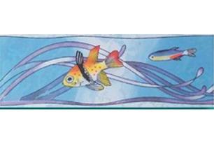 Бриз Бордюр рыбки 4 (403_3 ) 7х20