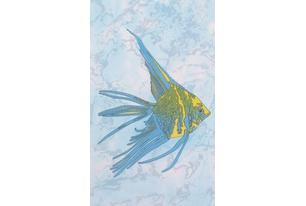 Бриз Декор желтая рыба (D403aAR8) 20х33