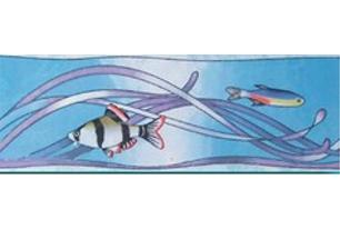 Бриз Бордюр рыбки 3 (403_2) 7х20