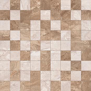 Polaris Мозаика коричневый+бежевый 30х30