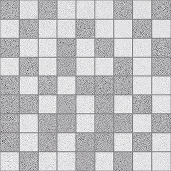 Vega Мозаика т.серый+серый 30х30