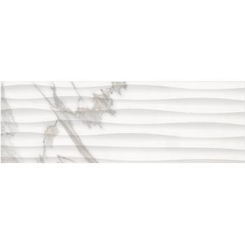 Миланезе дизайн Плитка настенная каррара волна 1064-0158 20х60