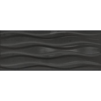 Элегия 1Т Плитка настенная черный 20х50