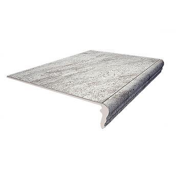 Терраса Ступень фронтальная серый противольскользящий SG109200N\GR 42х30