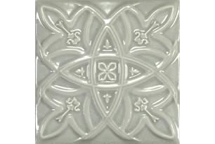 Antique Crackle Deco Relieve Greengreycrack Декор 150х150 мм/6шт