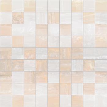 Diadema Мозаика 30х30 бежевый+белый