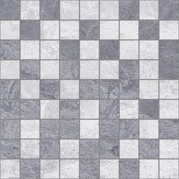 Pegas Мозаика 30х30 т.серый+серый
