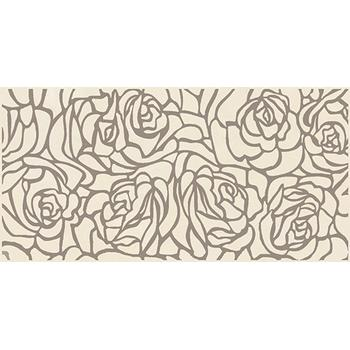 Serenity Rosas Декор кремовый 08-03-37-1349 20х40