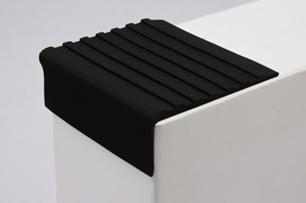 Противоскользящий самоклеющийся Угол черный 44 мм/12,5 пог.м