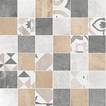 Цемент Стайл Мозаика напольная мульт. 6132-0128 30х30