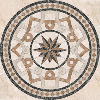 Темплар Панно напольное коричневое 6946-0101 90х90