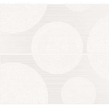 Tiffany панно белый (TV2F052) 40x44
