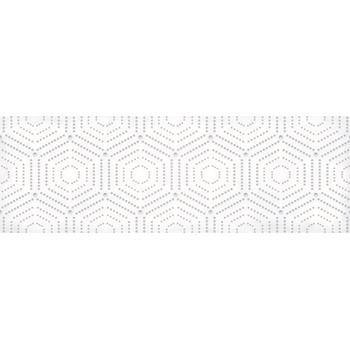 Парижанка Декор Геометрия белый 1664-0183 20х60