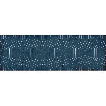 Парижанка Декор Геометрия синий 1664-0180 20х60