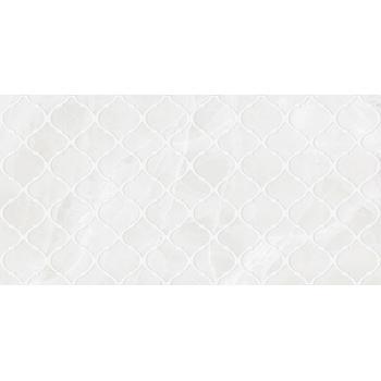 Plazma Nuance Декор белый 30х60