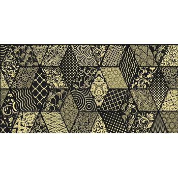 Tabu Bomond Декор чёрный 30х60