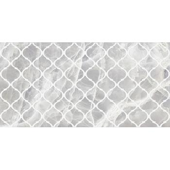 Plazma Nuance Декор серый 30х60
