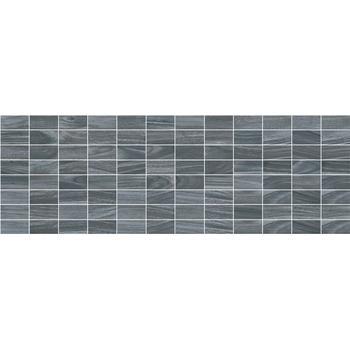 Zen Декор мозаичный чёрный MM60068 20х60