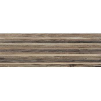 Zen Плитка настенная полоски коричневый 60030 20х60