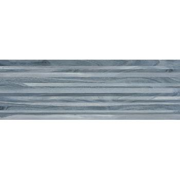 Zen Плитка настенная полоски синий 60032 20х60