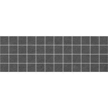 Story Декор мозаичный чёрный MM60094 20х60