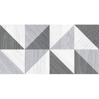 Village Плитка настенная серый микс 34006 25х50