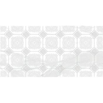 Olimpus Grand Декор белый 25х50