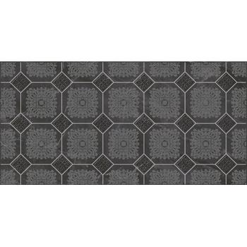 Olimpus Grand Декор чёрный 25х50