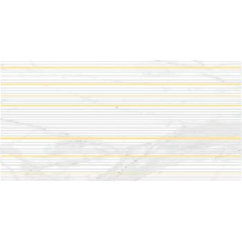 Olimpus Race Декор белый 25х50