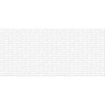 Pudra облицовочная плитка мозаика рельеф белый (PDG053D) 20x44