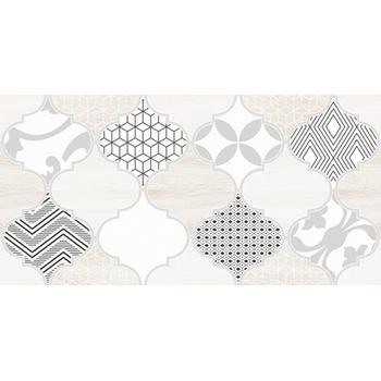 Мореска Декор 1 бежевый 1641-8625 20х40