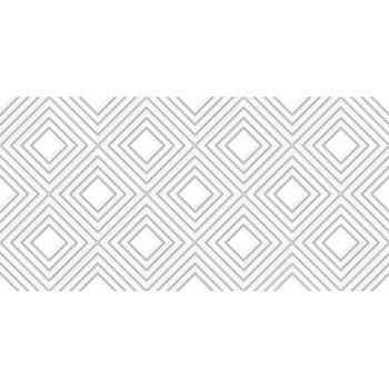 Мореска Декор геометрия белый 1641-8631 20х40