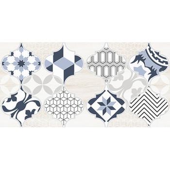 Мореска Декор 2 синий 1641-8630 20х40