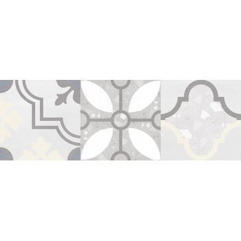 Woody Плитка настенная серый узор 25х75