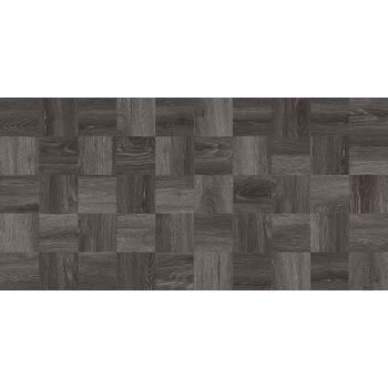 Timber Керамогранит чёрный мозаика 30х60