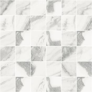 Silver Мозаика белый 30х30