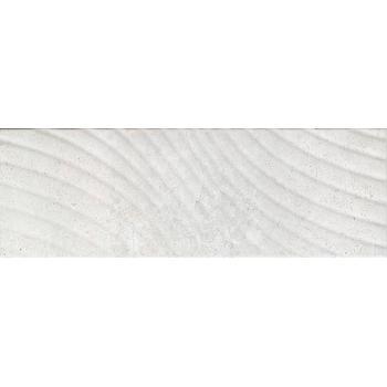 Сонора 1 тип 1 Плитка настенная декор серый, волна 25х75