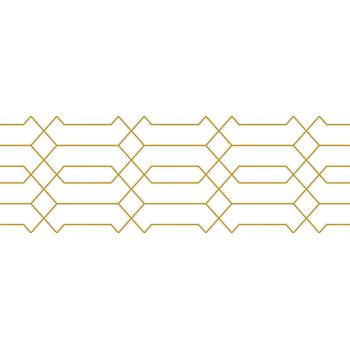 Simple Декор белый 25х75