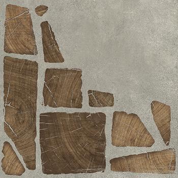 Woodland Керамогранит  серый (WL4R092D-69) 42х42