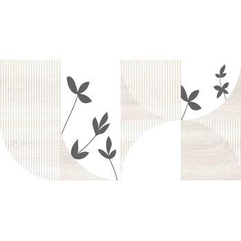 Джапанди Плитка настенная декор бежевая 1041-8200 19,8х39,8